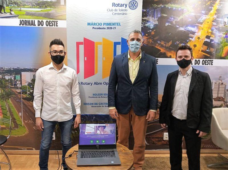 Startup FaturÁgil firma parceria com Rotary Club de Toledo Centenário