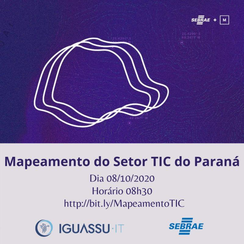 Mapeamento deve levantar informações do setor de TIC da região Oeste do Paraná