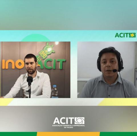 'Inteligência artificial voltada a negócios' foi tema de LIVE na ACIT