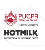 Logo PUCPR Hotmilk